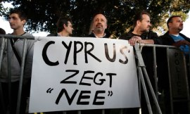 Cyprus protesters