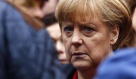 German Chancellor Merkel visits flood affected town of Passau