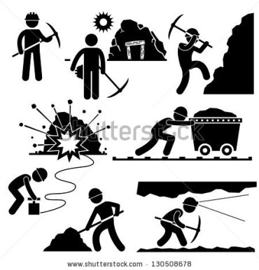 stock-vector-mining-worker-miner-labor-stick-figure-pictogram-icon-130508678