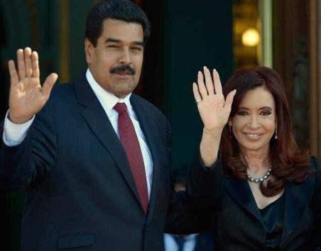 ARGENTINA-VENEZUELA-KIRCHNER-MADURO