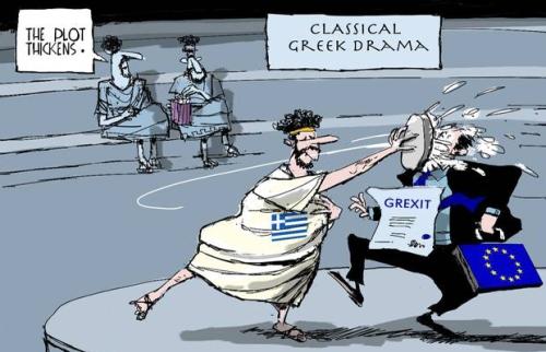 ΕΙΚΟΝΑ-Ελλάδα-Ευρώπη-Ευρωζώνη-Grexit