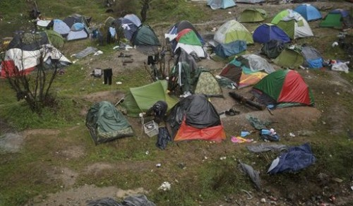 Idomeni-Camp
